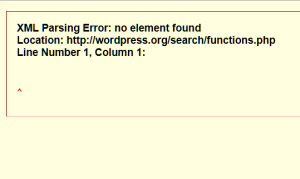 codex search for functionsphp error 2012